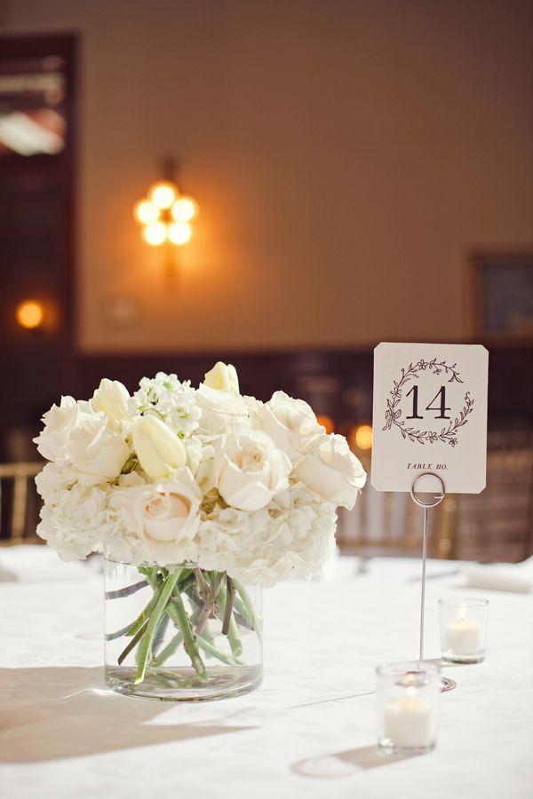 Simple And Incredibly Elegant Blacktie Weddingdecor