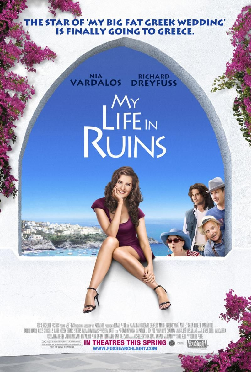 My Life In Ruins This Movie Was Incredibly Heartwarming And Fun Like Most All Of Nia Vardalos Mo Romantic Comedy Movies Comedy Movies Best Romantic Comedies