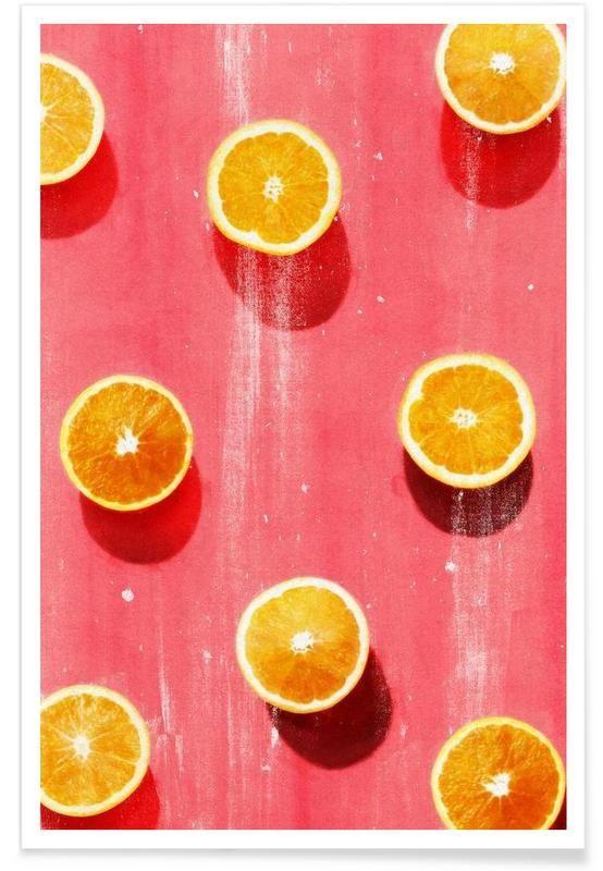 Fruit 5 als Premium Poster von LEEMO   JUNIQE