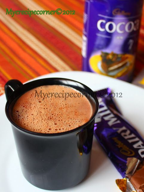 Hot Chocolate Recipe With Cadburys Cocoa Powder In 2020