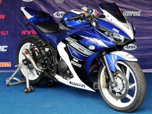 Meski Hadir Dengan Spesial Edition Yamaha Yzf R25 Dibanderol Dengan Harga Tetap Sport Motorcycle Custom Sport Bikes Racing Motorcycles