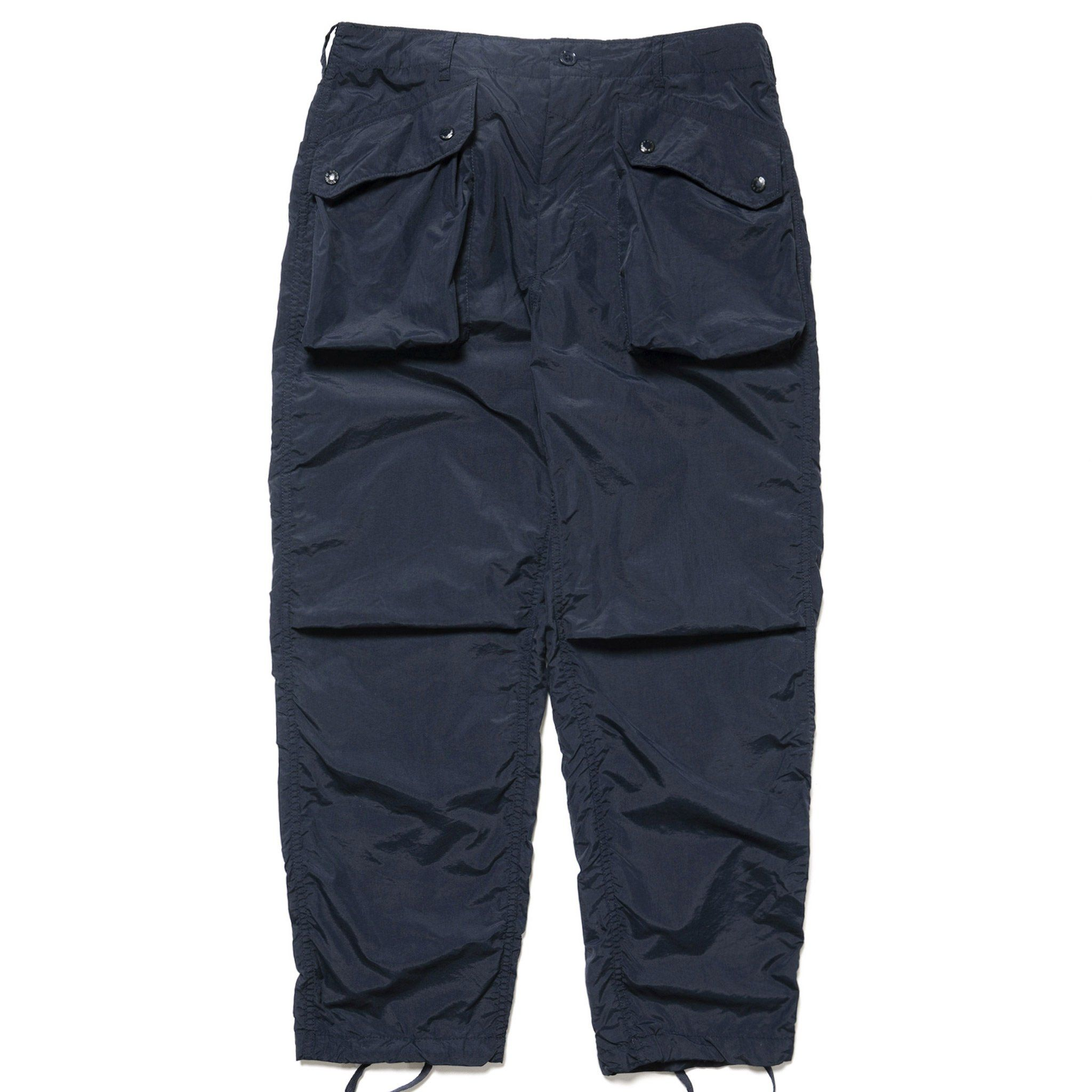 0dccb3d5ec458 Engineered Garments Acrylic Coated Taffeta Norwegian Pant Navy, Bottoms