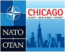 May 20 – May 21, 2012 – At the Chicago Summit, NATO leaders discuss the Middle East, nuclear weapons, Russia, and the Afghanistan War.    2012 Chicago Summit  NATO Summit Chicago 2012