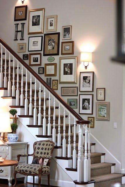 Wall Photo Home Decor Decor Gallery Wall Staircase