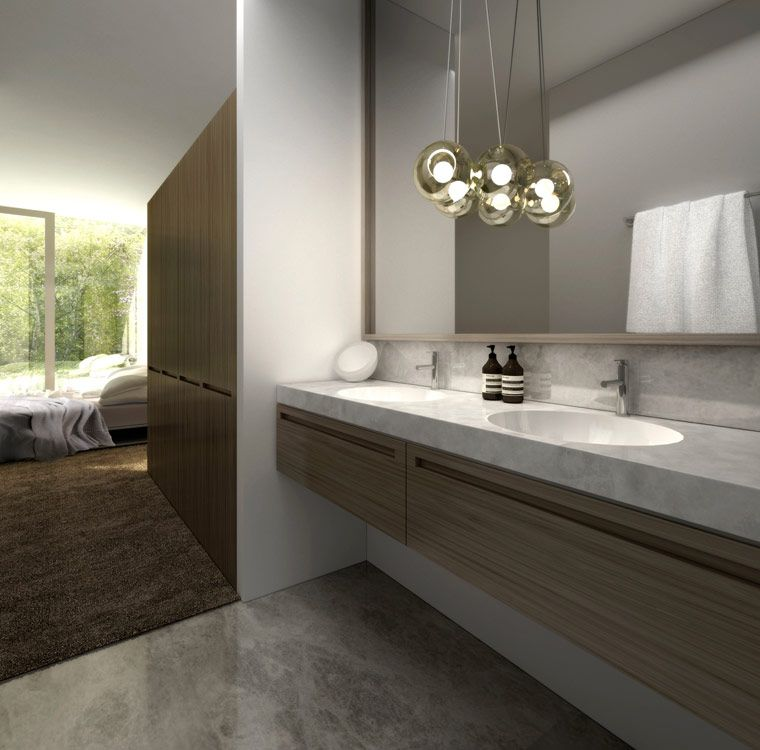 Rob mills church street residential architect australia for Church bathroom ideas