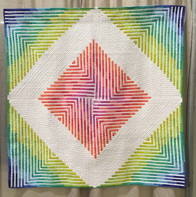 20 modern quilts from QuiltCon 2019 #modernquiltingdesigns
