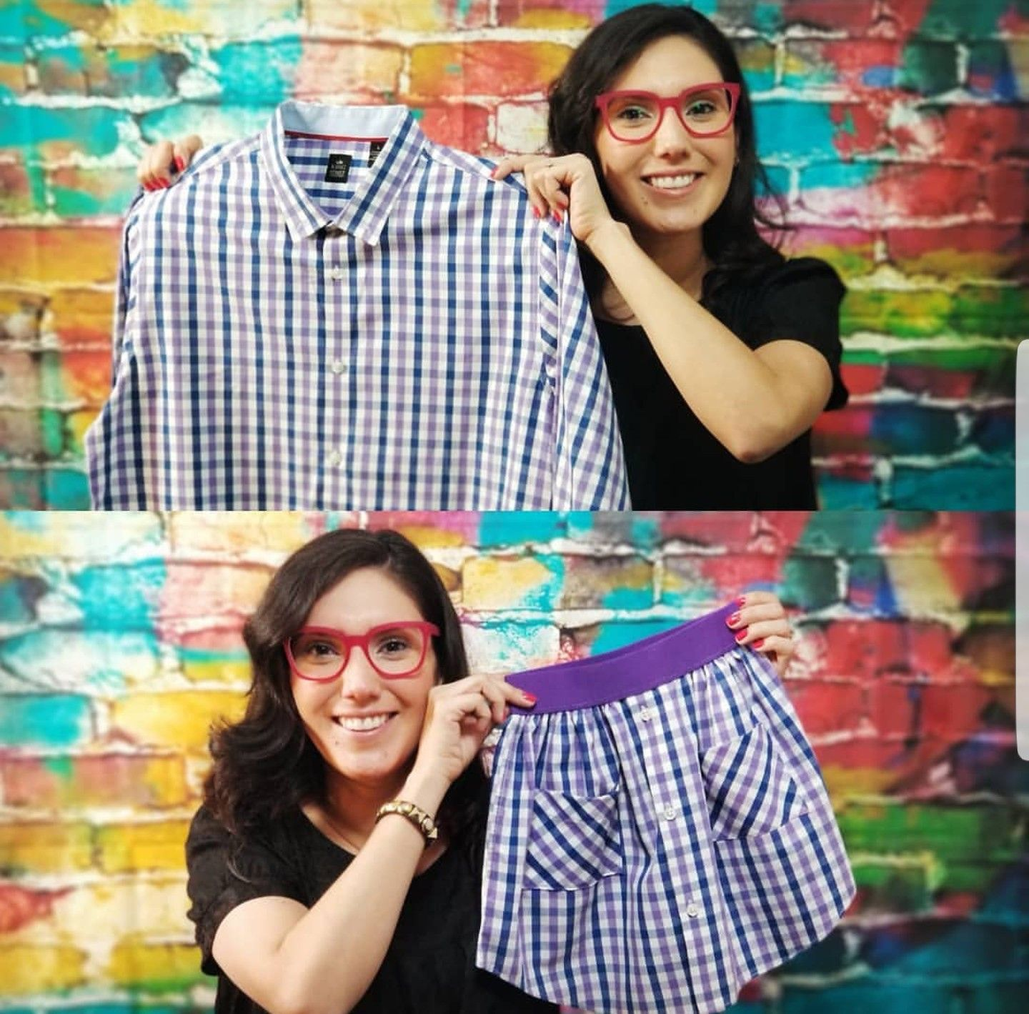 DIY repurpose mens dress shirt into little girls skirt Easy step by step video tutorial on upscaling clothing When you are like me you live and breathe style You happen t...