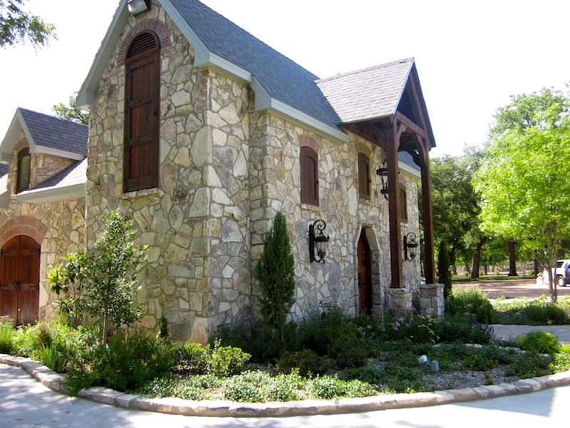 Chapel at Christoval Vineyards near San Angelo Texas