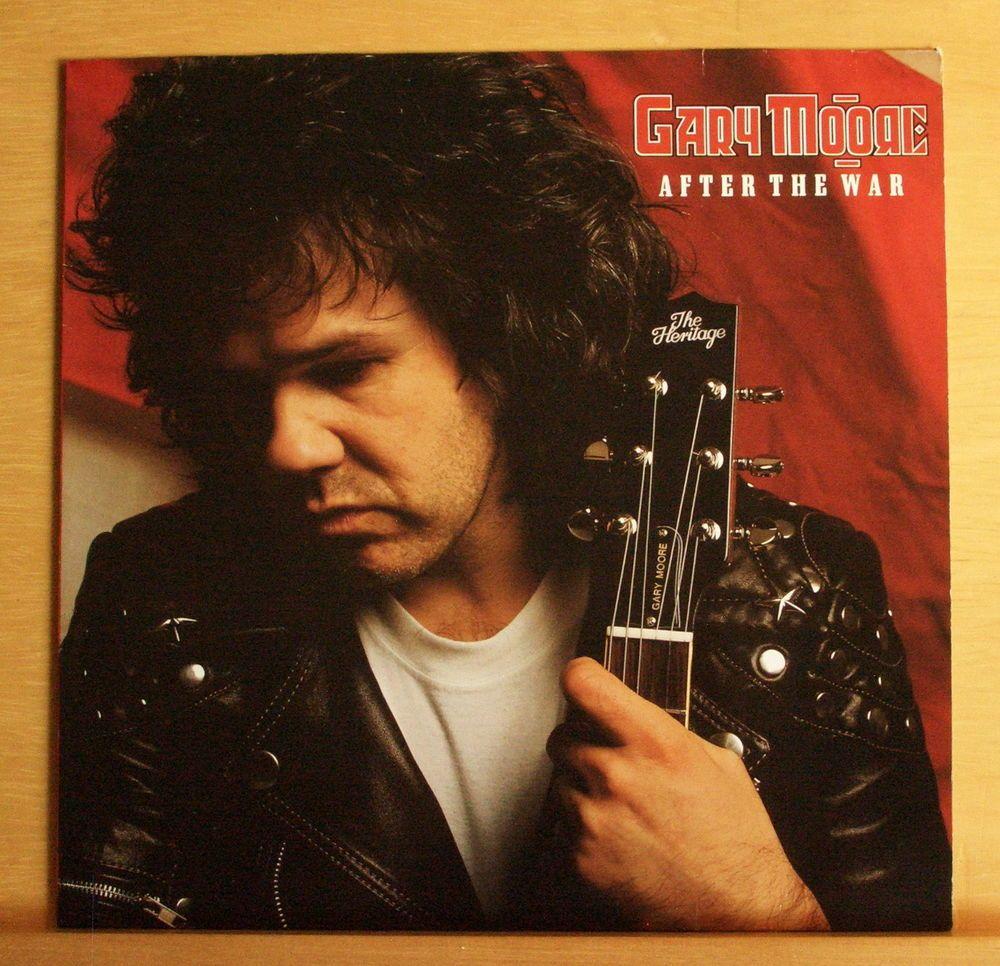 GARY MOORE After the War Vinyl LP - Thin Lizzy Skid Row Dr.Strangely Strange BBM