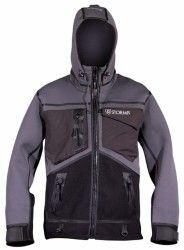 Stormr Strykr Jacket, Smoke/Black, Large – Fishing, Fly Fishing & Ice Fishing