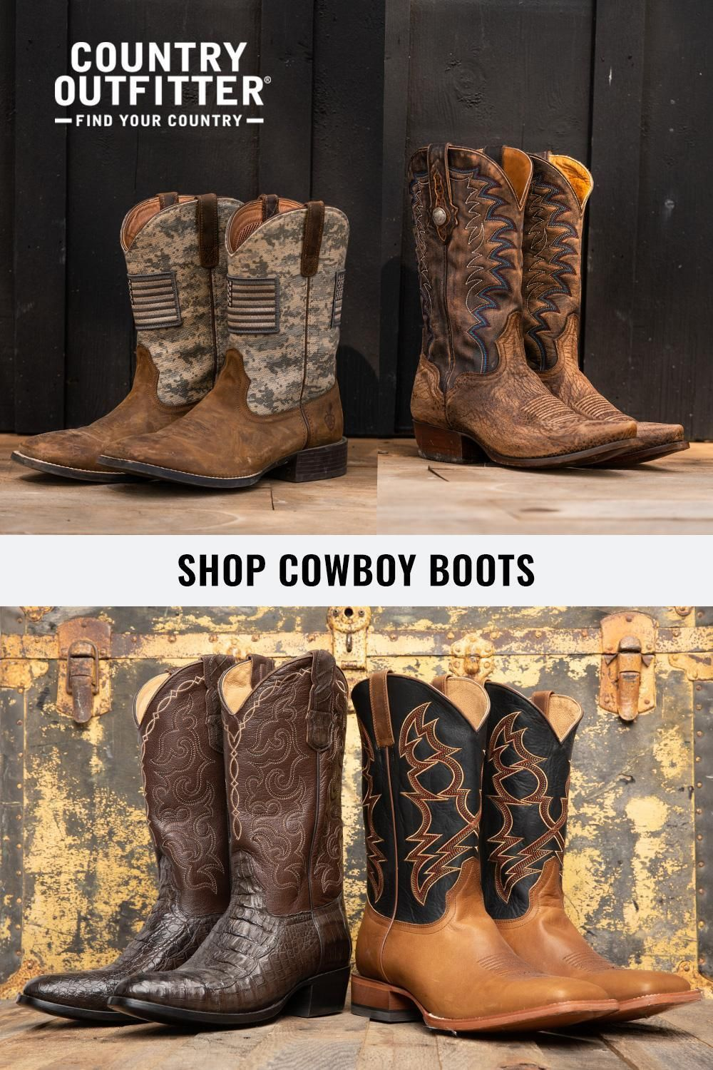ec90d766fb8 Country Outfitter has the highest-quality men's cowboy boots in ...