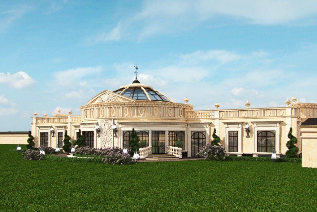 Professional exterior design in qatar by antonovich design for Modern house qatar