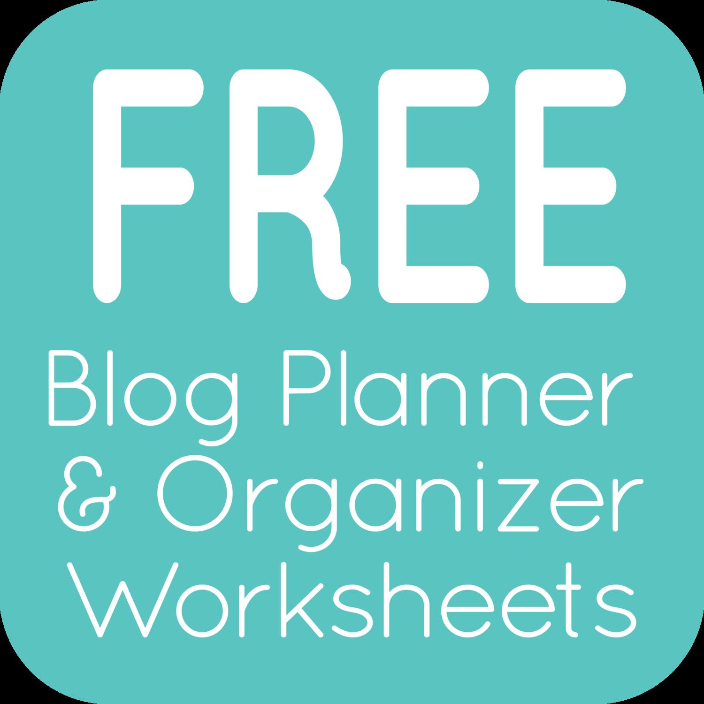 Blog Planner Amp Organizational Printables