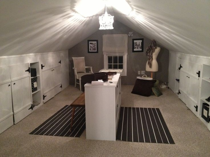 Attractive Attic Closet Ideas | Attic Closet