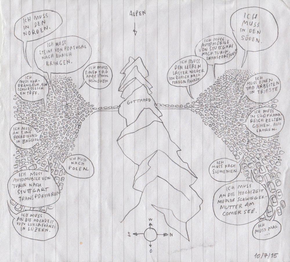 Jeden Tag eine neue Zeichnung: Mich Hodlers Odyssee durch das letzte Jahr
