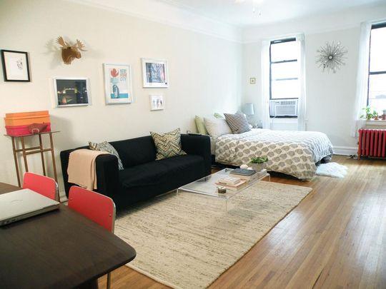 studio apartment in Greenwich Village, 24 Fifth Avenue, Ikea lack ...