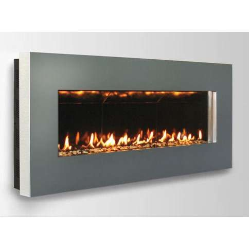 Wall Mount Gas Fireplace Direct Vent Slim 46 Thisnext With