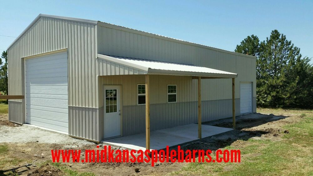 Pole Barn Kit 30x50x14 With Steel Trusses 10x20 Porch Barn Kits Steel Trusses Pole Barn