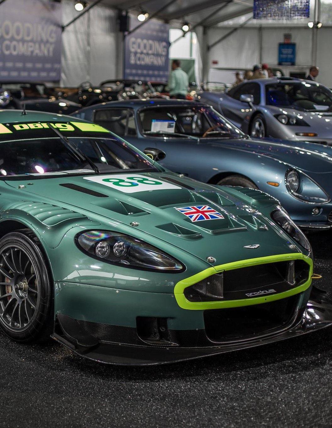 Aston Martin DBR9 Car Mouse Mat