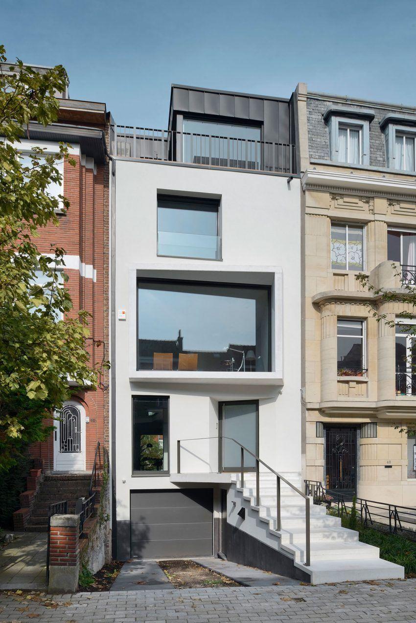 Urban Platform Designs a Vertical Home in Brussels, Belgium ...