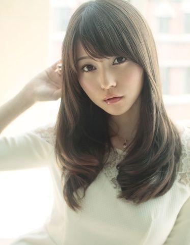 Side Swept Bangs Asian : swept, bangs, asian, Swept, Bangs, Layers, Asian, Hair,, Medium, Styles,, Styles