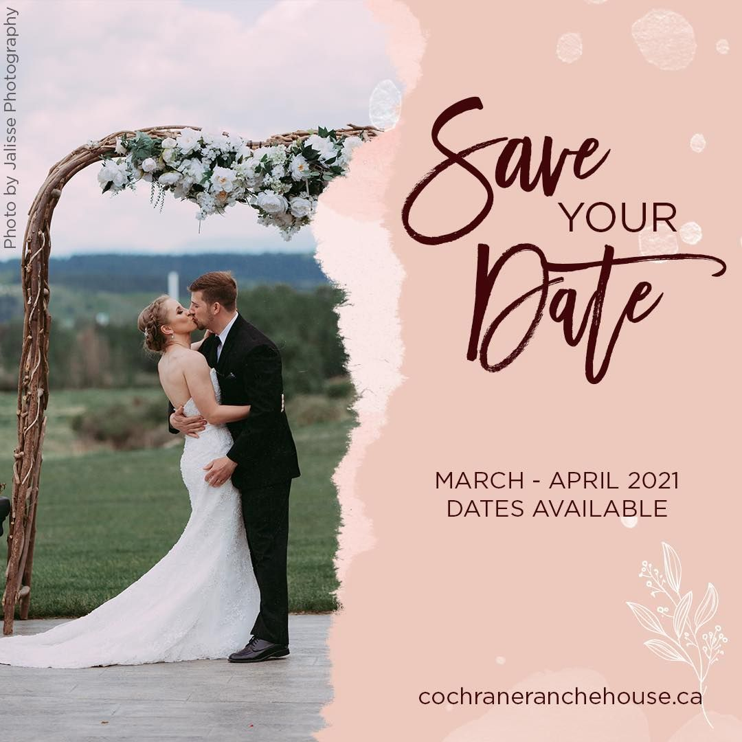 "Cochrane RancheHouse on Instagram: ""Whether your looking to postpone your wedding or are newly engaged, the Cochrane RancheHouse is offering some exciting promotions for 2021…"""