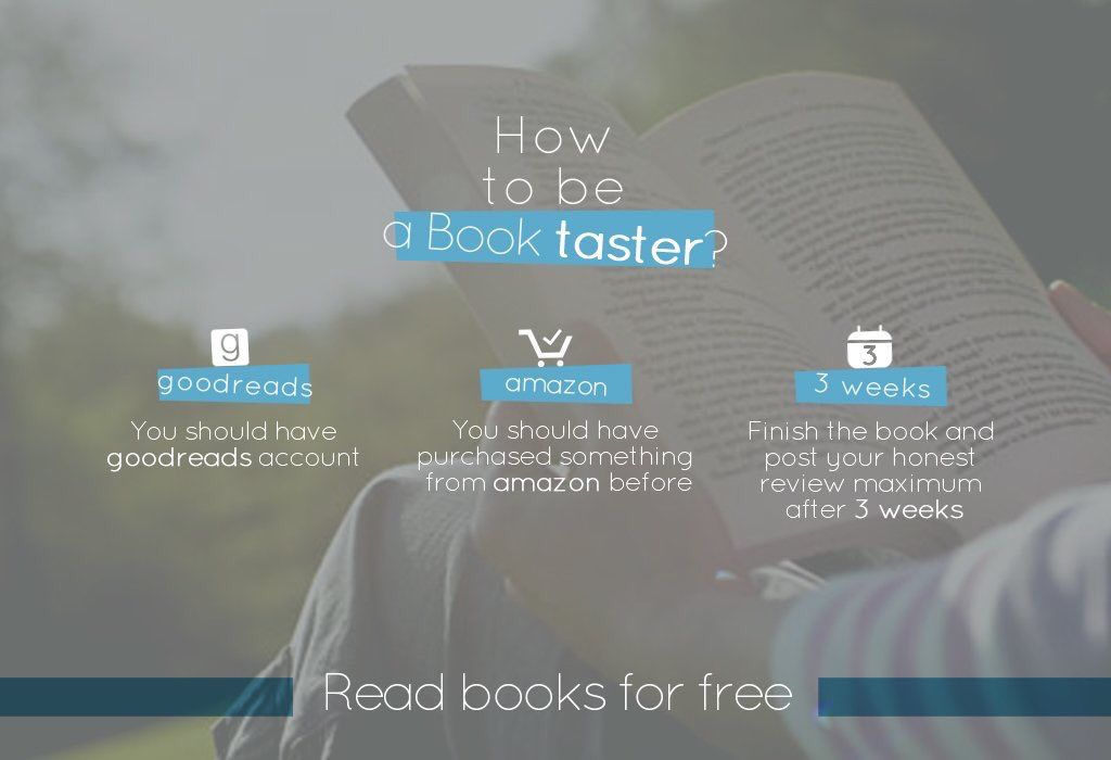 If you enjoy reading and telling others about the books check out @BookTasters.