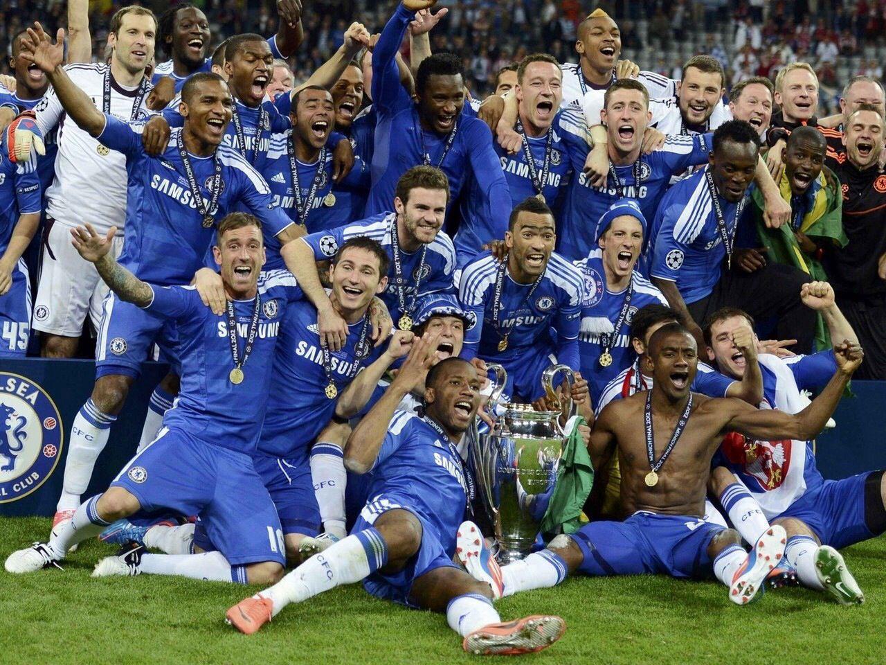 Chelsea championne d'Europe 2012 en finale contre le