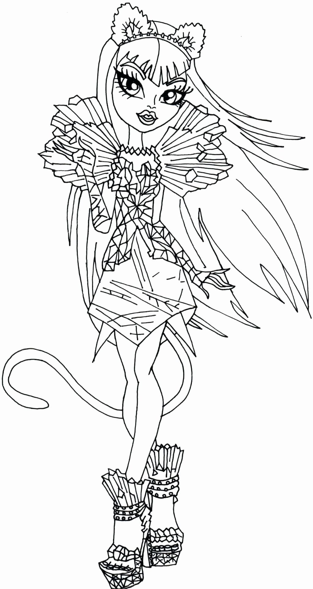 Monster High Coloring Page Elegant Coloring Page Coloring For Kids Monster High Page Children Monster Coloring Pages Coloring Pages Horse Coloring Pages