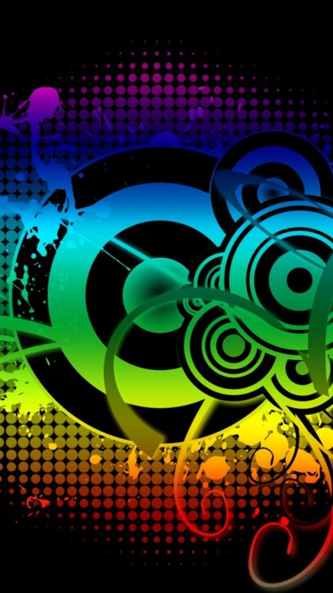 Colorful Music Wallpaper Iphone > Flip Wallpapers