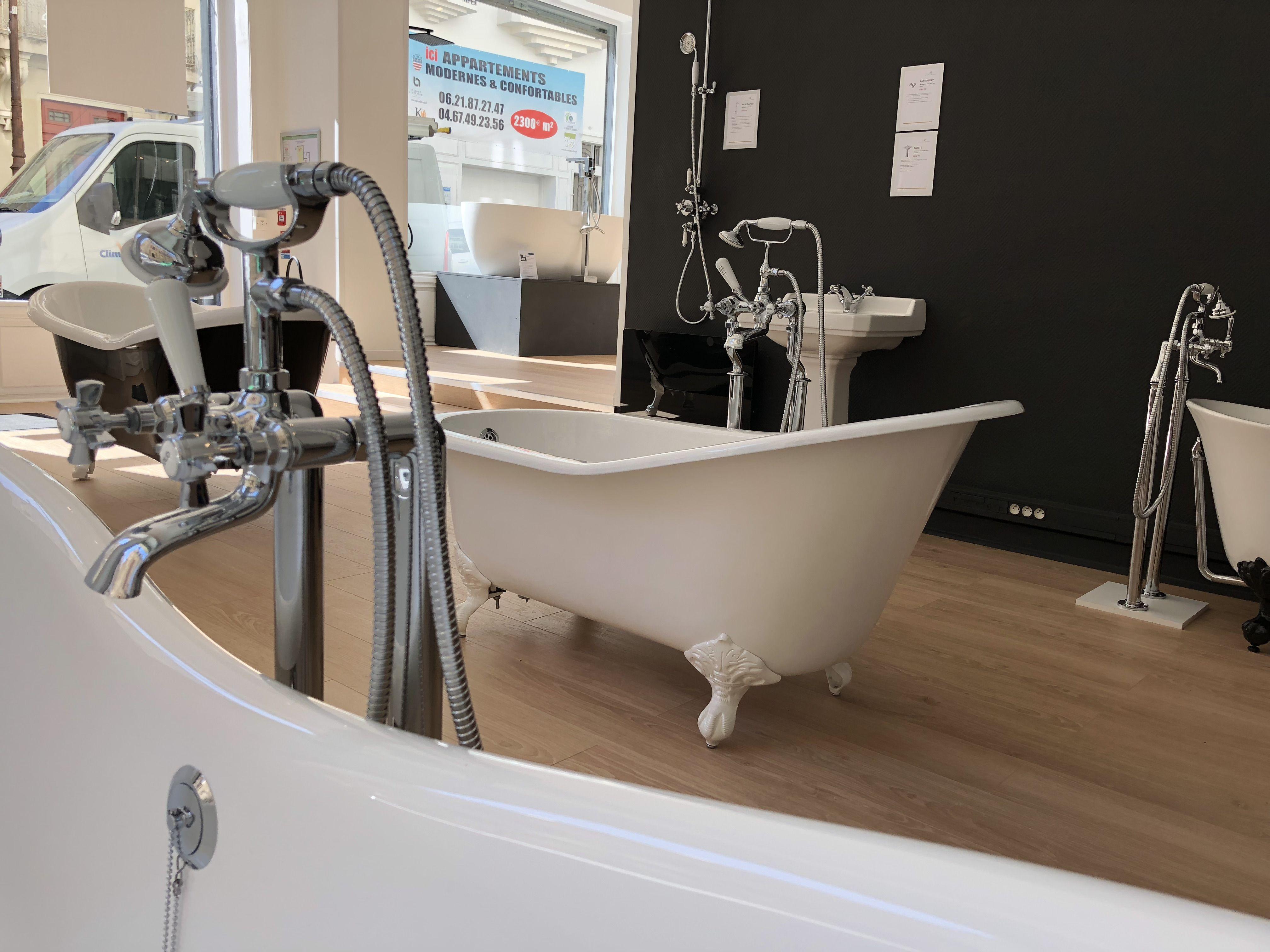 Découvrez notre showroom salle de bain BEZIERS CENTRE  Showroom