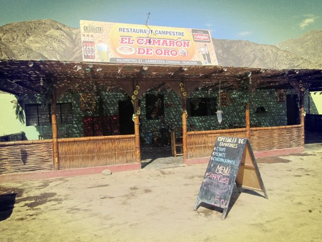 Restaurante Camaron de Oro.