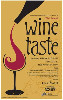 Google Image Result For Phinneywood Images Wine Taste 2011 Poster I Like These Graphics