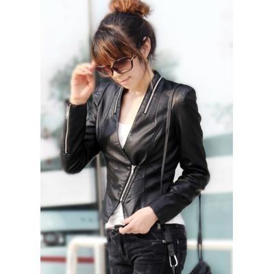 Zara blouson cuir femme