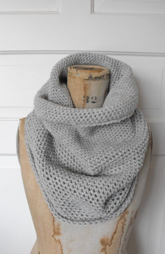 NOMAD cowl in ash   Tricot   Pinterest   Crocheter en rond, Maille ... 13882a4c651