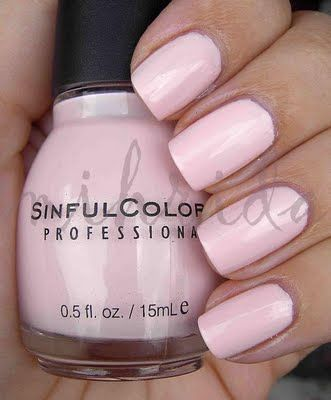 Sinful Colors - Easy Going, almost hit a mailbox on the home from my pedi bc I couldn't stop starring at my toes, true story.