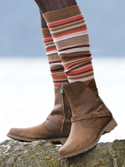 Brown Teva Ladies De La Vina Wool Bootie Trendy