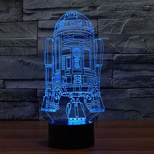 Subosi Optical Illusion Star Wars Battleship 3d Lights To 3d Led Night Light Star Wars Lamp 3d Led Light