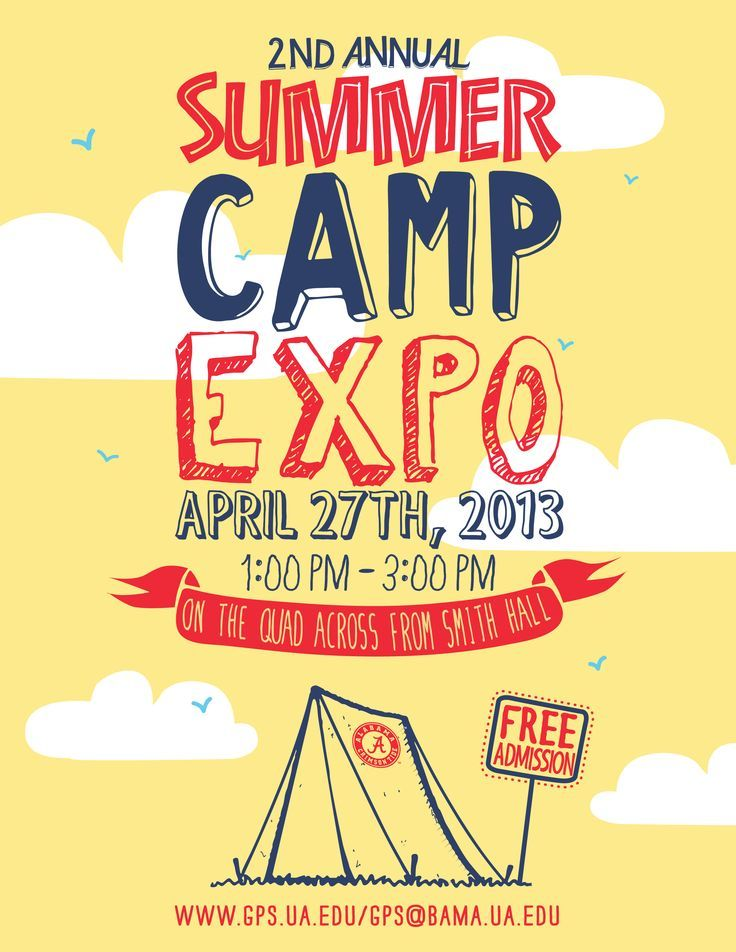 modern youth camp poster - Google Search GRAPHICS ART - summer camp flyer template