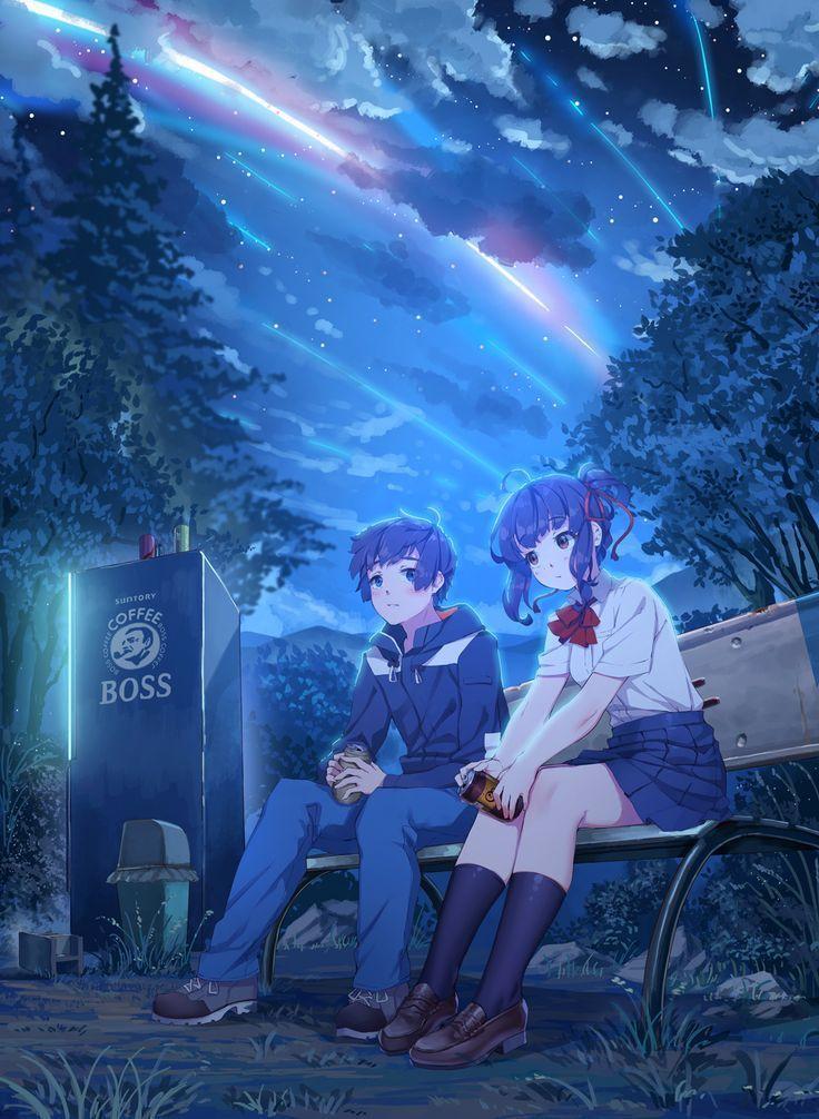 『Ảnh Anime Đẹp 』 - #99 : Kimi no Na Wa ( Your name )