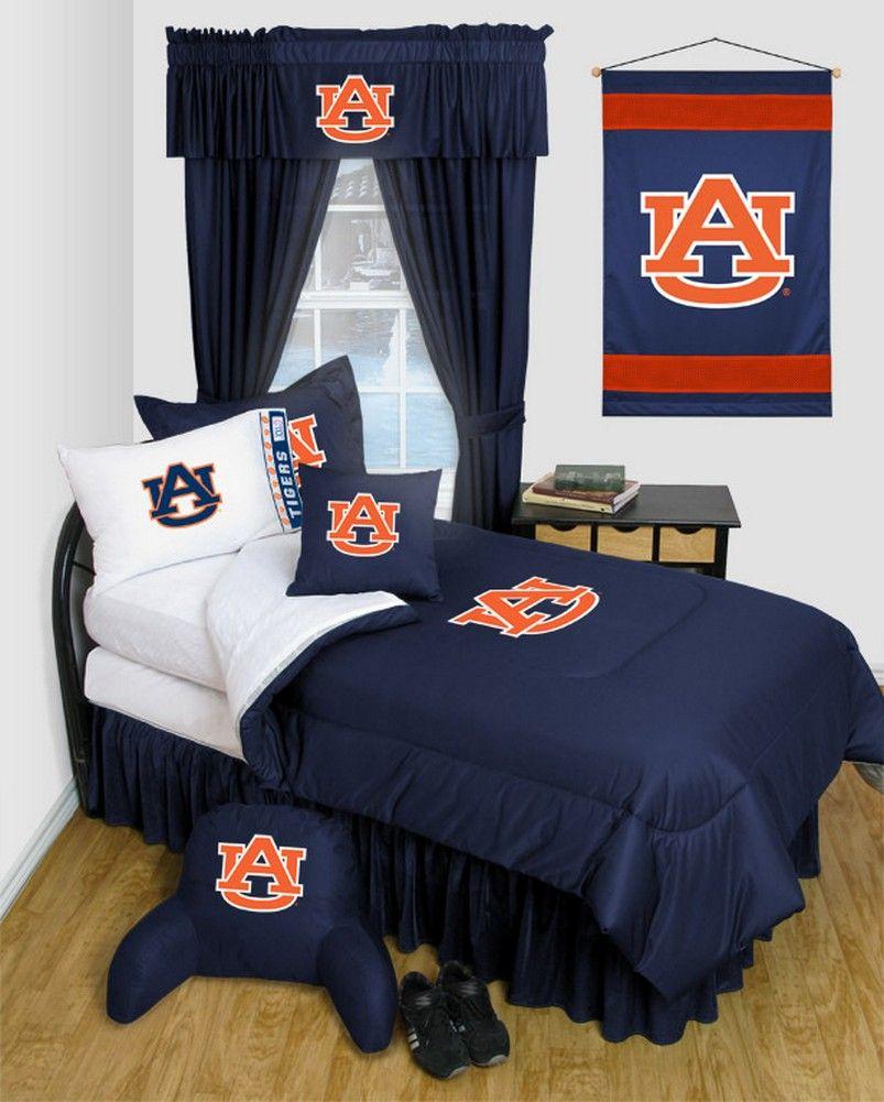 a8f82d5d Auburn University Tigers Dorm Bedding Comforter Set | Dormitorio ...
