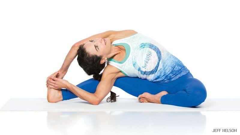 How To Move Safely From Janu Sirsasana To Parivrtta Janu Sirsasana Types Of Yoga Headstand Yoga Yoga
