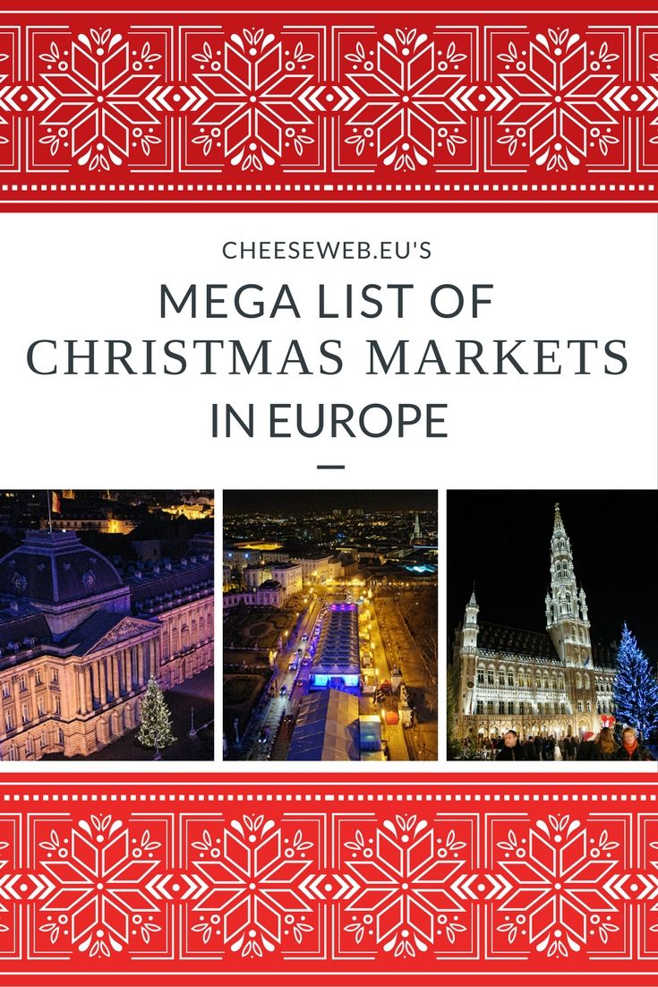 The Best Christmas Markets in Europe with 2019 Dates