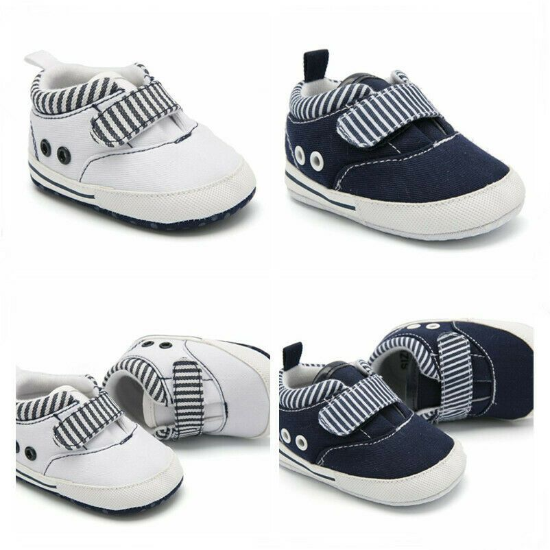 Newborn Baby Boy Crib Shoes Toddler Pre Walking Trainers Kids Casual Shoes 0 12m Baby Boy Shoes Ideas Of In 2020 Baby Boy Shoes Baby Boy Shoes Nike Cute Baby Shoes