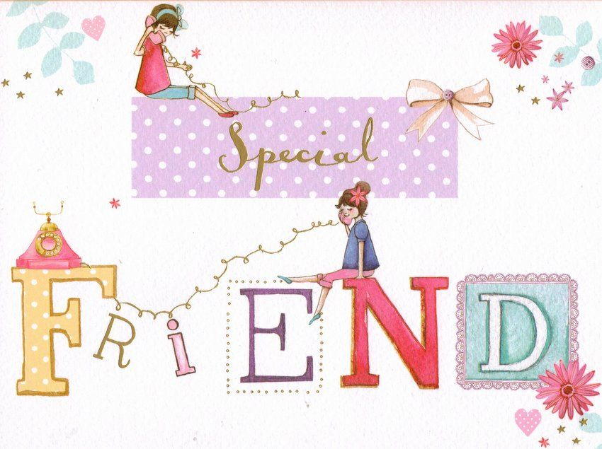 Special Friend Birthday card 295 FREE UK Delivery Make Your – Birthday Cards Next Day Delivery