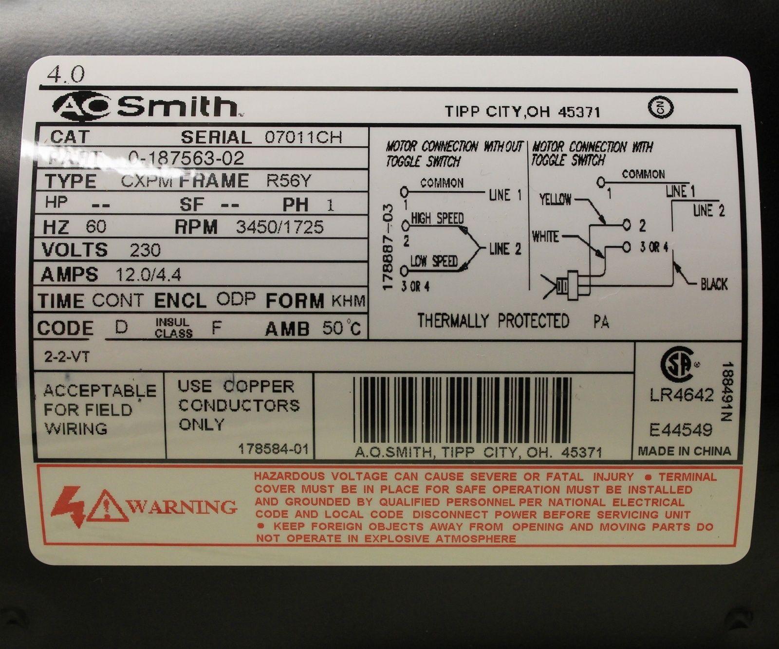 110 220 Motor Wiring Diagram In 2020