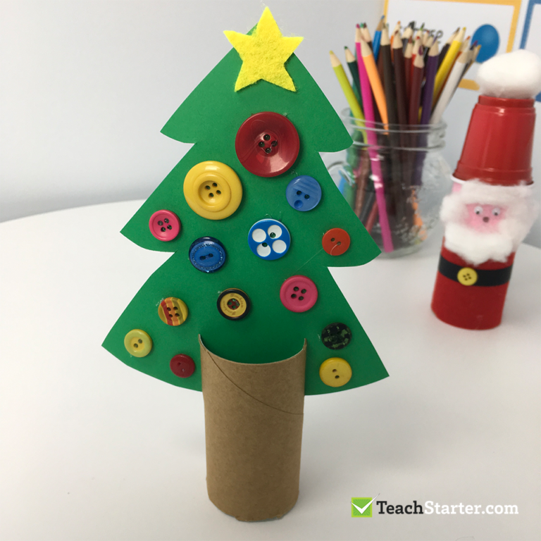 Christmas Tree Craft With Toilet Paper Roll Tp Roll Stand Holiday Crafts Christmas Tree Crafts Christmas Crafts For Kids