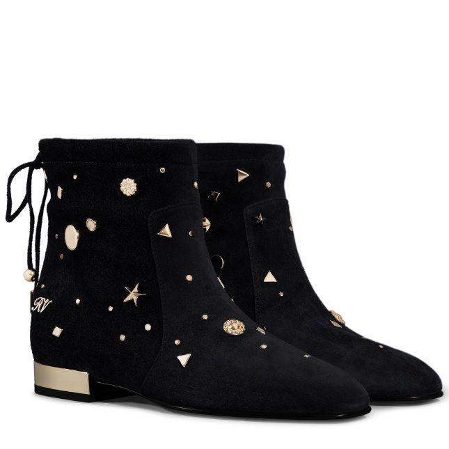 Valentino Garavani Âme Rockstud Valentino Desert Boots - Noir f3cMINi