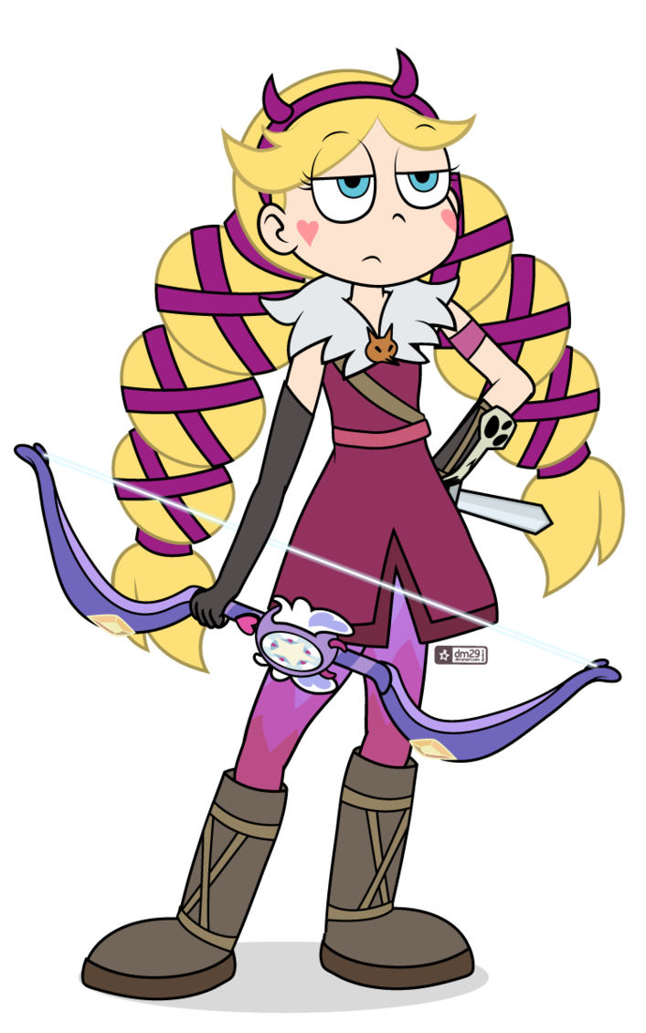So her wand turns into a bow. Big whoop. No Bases. Please