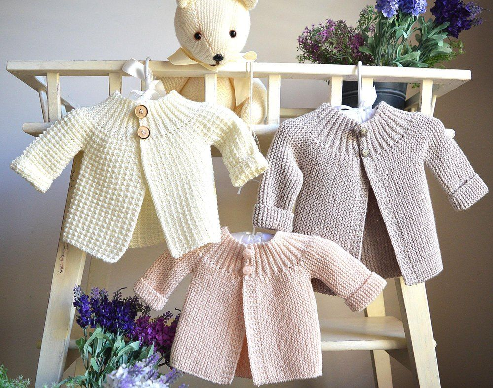 Vintage inspired sidedways cardi/jacket - P099 | knitting | Knitting ...